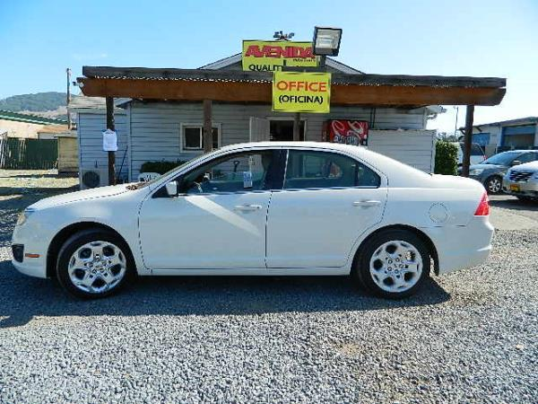 2010 FORD FUSION white automatic 85734 miles Stock 1067 VIN 3FAHP0HA4AR141737