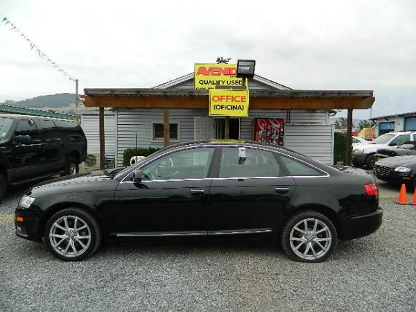 2009 AUDI A6 black automatic 109435 miles Stock 1071 VIN WAUCH74F89N023049