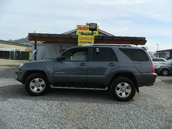 2004 TOYOTA 4RUNNER automatic 230439 miles Stock 1081 VIN JTEBU17R640030726