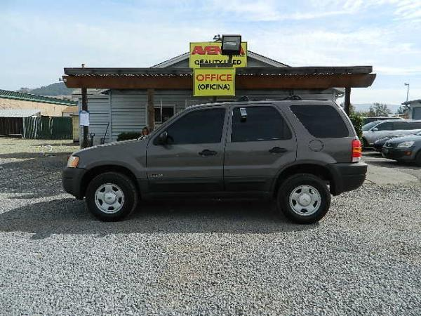 2002 FORD ESCAPE dark gray stick 150536 miles Stock 1097 VIN 1FMCU01B32KD81072