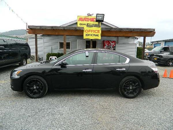 2014 NISSAN MAXIMA black automatic 49418 miles Stock 1102 VIN 1N4AA5AP1EC459026