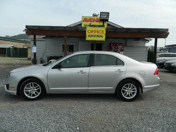 2012 FORD FUSION silversilver 4 speed automatic 17125 miles Stock 1108 VIN 3FAHP0GAXCR39780