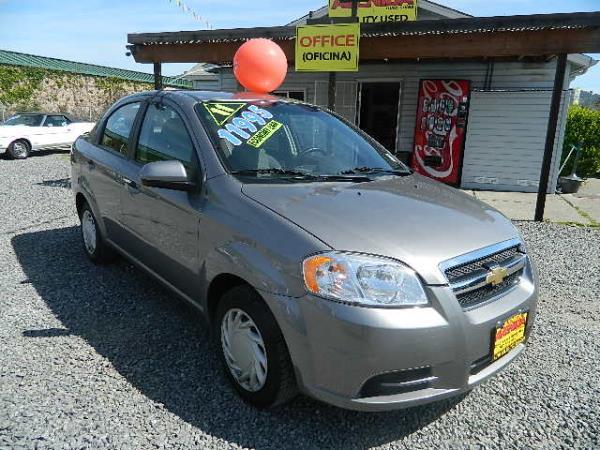 2011 CHEVROLET AVEO dark grayblack auto 59704 miles Stock 593 VIN KL1TD5DE9BB115568
