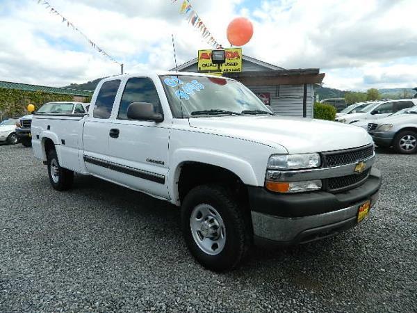 2001 CHEVROLET SILVERADO whiteblack automatic 164287 miles Stock 625 VIN 1GCHC29U71E225757