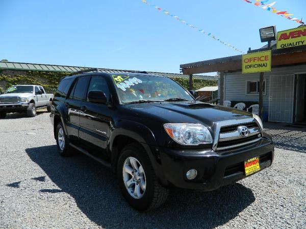 2007 TOYOTA 4RUNNER blackblack automatic 176832 miles Stock 658 VIN JTEBT14R878038016