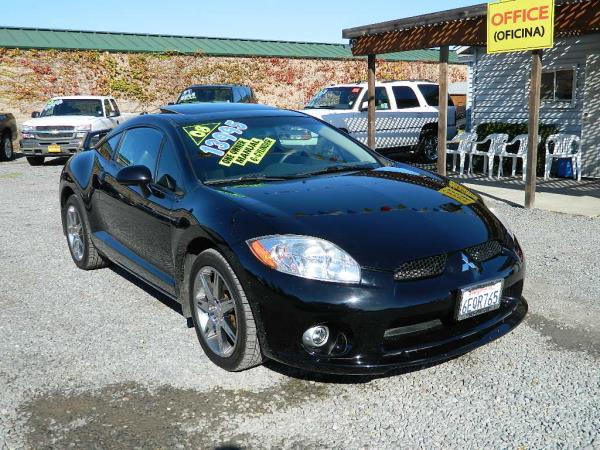 2008 MITSUBISHI ECLIPSE blackblack 6 speed manual abs 4-wheelsair conditioneralarmamfm ra