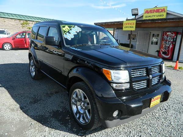2007 DODGE NITRO blackblack automatic 86453 miles Stock 830 VIN 1D8GU58607W679446