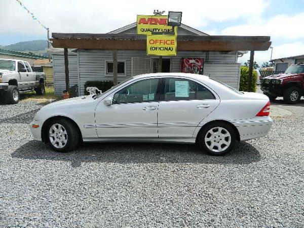 2006 MERCEDES C-CLASS silver auto 151908 miles Stock 904 VIN WDBRF56HX6F821708