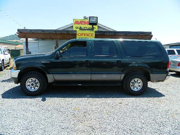 2003 FORD EXCURSION dark green automatic 159541 miles Stock 925 VIN 1FMNU41L53EC39976