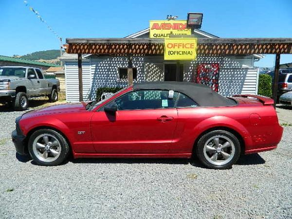 2005 FORD MUSTANG maroon 72240 miles Stock 935 VIN 1ZVFT85H755126295