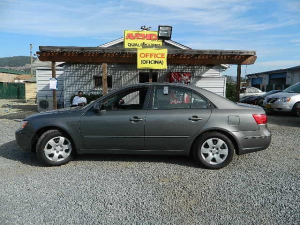 2009 HYUNDAI SONATA gray auto 99753 miles Stock 983 VIN 5NPET46C79H440738