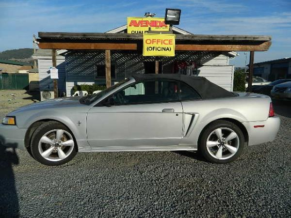 2002 FORD MUSTANG dark grey 96840 miles Stock 986 VIN 1FAFP44462F220193