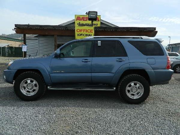 2003 TOYOTA 4RUNNER blue 178871 miles Stock 994 VIN JTEBT17R530012378