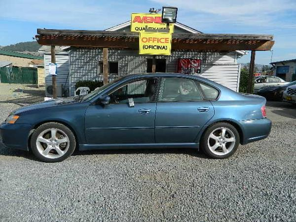 2006 SUBARU LEGACY 5 speed automatic 88619 miles Stock 998 VIN 4S3BL676764213168