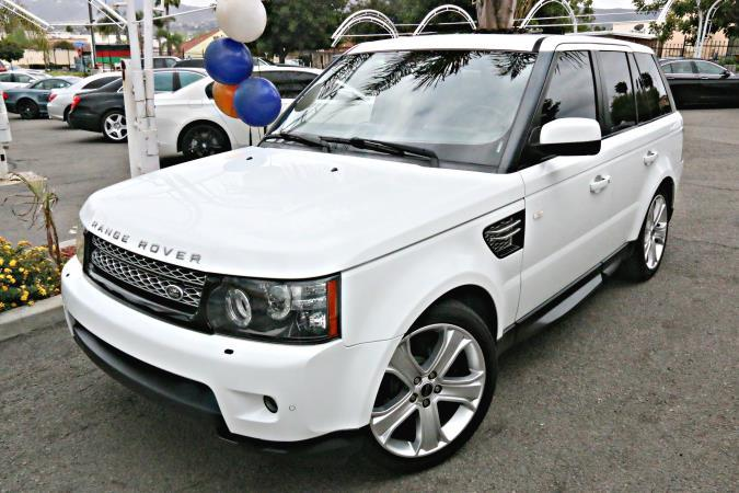 LAND ROVER RANGE ROVER SPORT HSE LUX