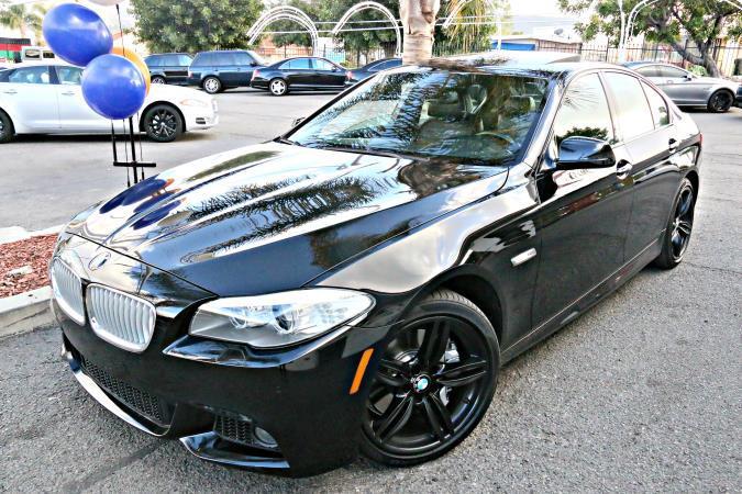 BMW 5 SERIES M-SPORT 550I