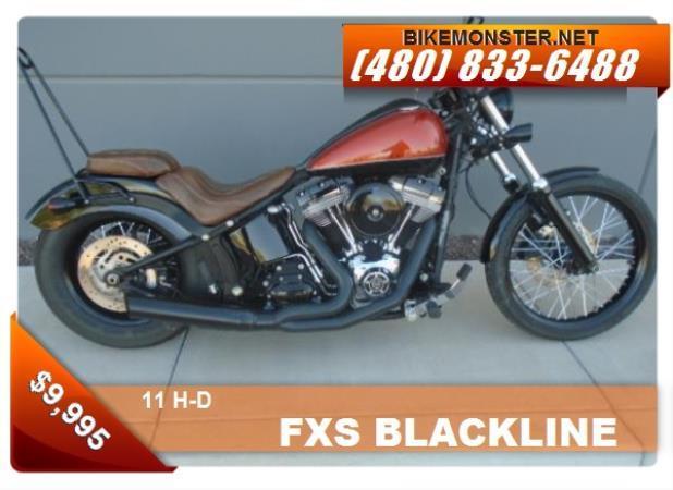 H-D FXS BLACKLINE