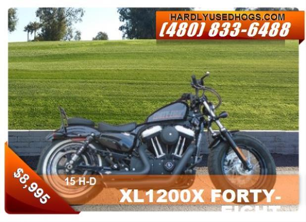 H-D XL1200X FORTY-EIGHT