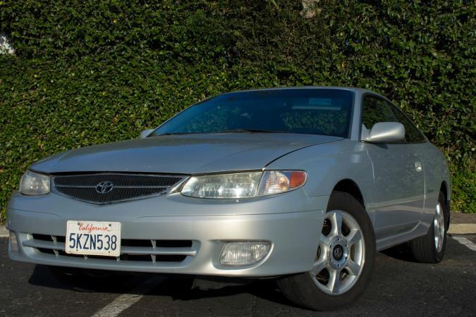 This Is A Beautiful SILVER 2000 TOYOTA CAMRY SOLARA 2 DOOR COUPE AUTOMATIC  Transmission Car With 168057 Miles.