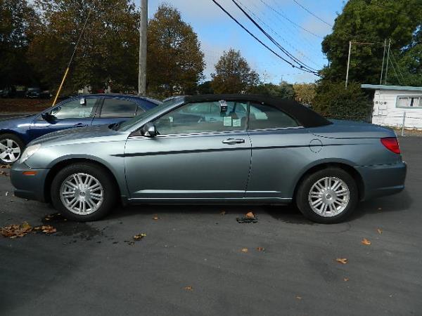 2009 CHRYSLER SEBRING blue auto 104886 miles Stock 1005 VIN 1C3LC55D89N544361
