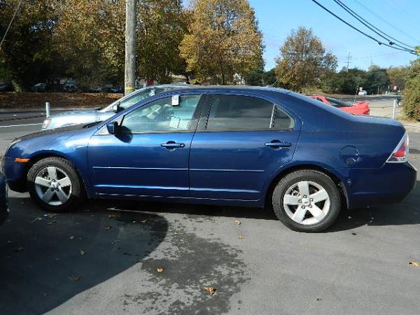 2007 FORD FUSION bluegrey auto 64892 miles Stock 1012 VIN 3FAHP07Z67R265458