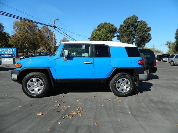 2007 TOYOTA FJ CRUISER blueblack auto 161927 miles Stock 1053 VIN JTEBU11F870020346