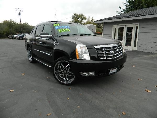 2007 CADILLAC ESCALADE EXT blackbeige auto 113630 miles Stock 1084 VIN 3GYFK628X7G156427