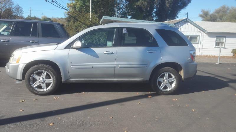 2006 CHEVROLET EQUINOX silver auto 128463 miles Stock 14 VIN 2CNDL63F766004392