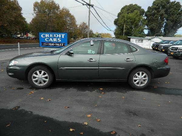 2005 BUICK LACROSSE grey auto 52752 miles Stock 590 VIN 2G4WC532151337070