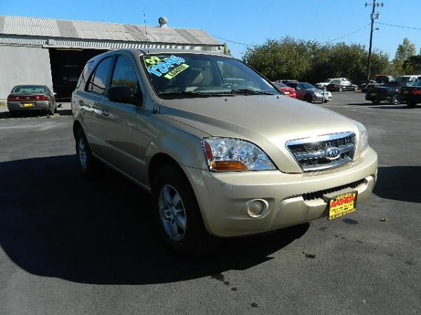 2009 KIA SORENTO goldbeige auto 83393 miles Stock 608 VIN KNDJD735795897519