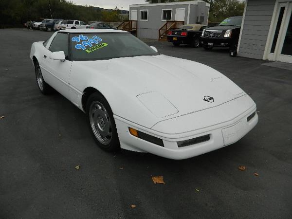 1996 CHEVROLET CORVETTE whiteblack 95637 miles Stock 714 VIN 1G1YY22P6T5111878