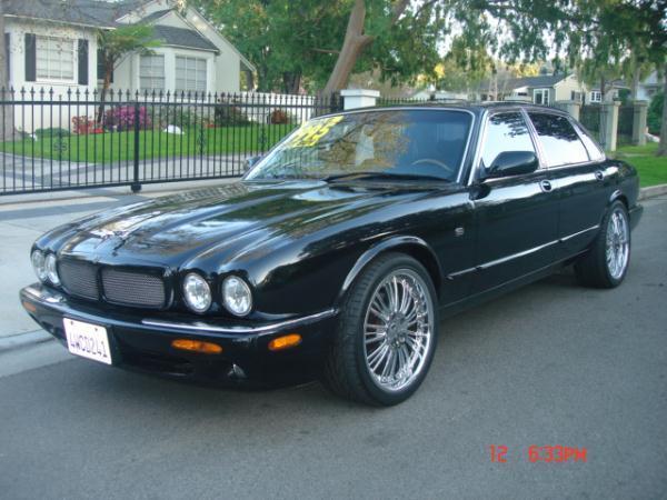 1998 JAGUAR XJR blackblack 5 speed automatic 86106 miles Stock 2095 VIN SAJPX1840WC814908