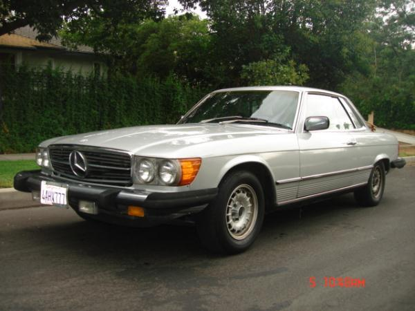 1979 MERCEDES 450SLC silvergray automatic 136591 miles Stock 2129 VIN 10702412025087