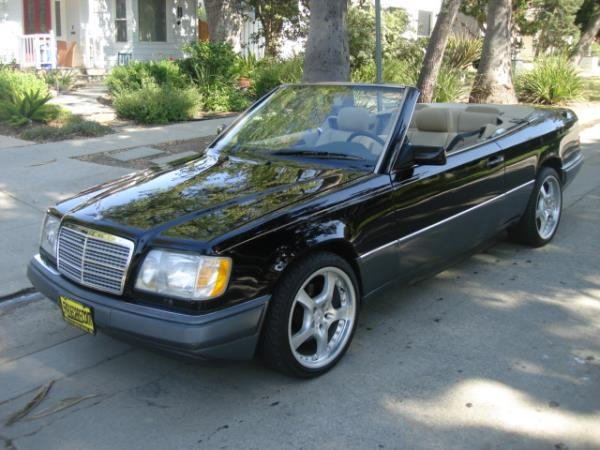 1995 MERCEDES E-CLASS blacktan automatic 93328 miles Stock 2410 VIN WDBEA66E2SC222922