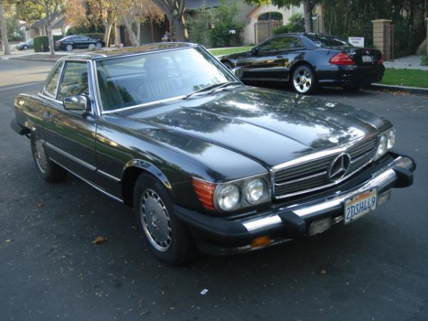 1987 MERCEDES 560 graygray automatic 142860 miles Stock 2478 VIN WDBBA48D1HA059194
