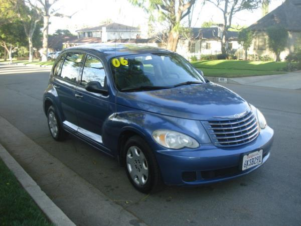 2006 CHRYSLER PT CRUISER bluegray automatic 98687 miles Stock 2727 VIN 3A4FY58B06T336551