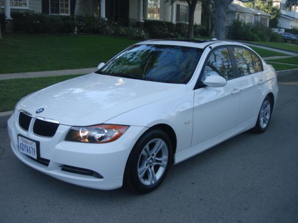 2008 BMW 3 SERIES whitetan automatic 144556 miles Stock 2748 VIN WBAVC53508FZ88436