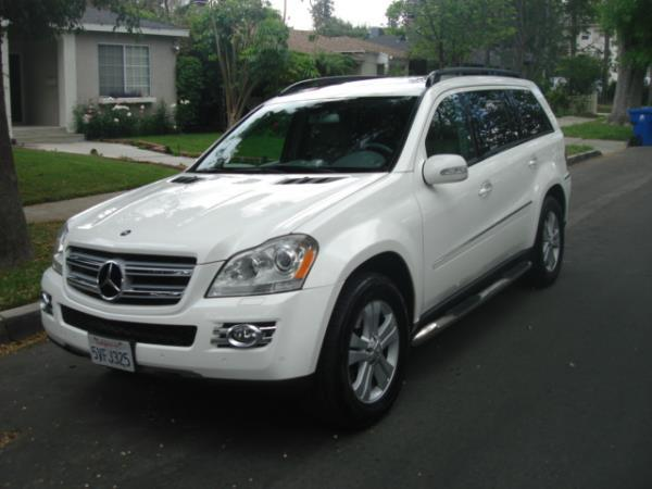 2007 MERCEDES GL-CLASS whitegray automatic 101933 miles Stock 2770 VIN 4JGBF71E37A133247