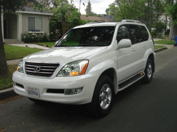 2006 LEXUS GX 470 whitetan automatic 118242 miles Stock 2777 VIN JTJBT20X960102623