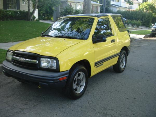 2003 CHEVROLET TRACKER yellowgray manuel 94428 miles Stock 2791 VIN 2CNBE18C636908586