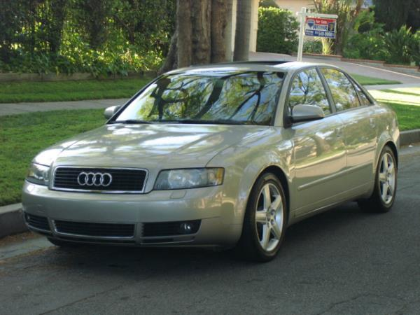 2005 AUDI A4 light greentan automatic 112877 miles Stock 2803 VIN WAUJC68E15A047695