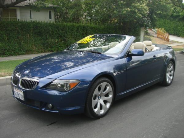 2005 BMW 6 SERIES bluetan automatic 97587 miles Stock 2821 VIN WBAEK73425B323711