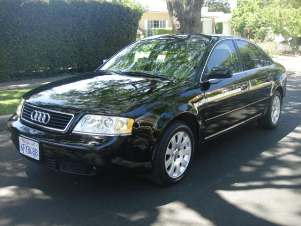 2001 AUDI A6 blackgray automatic 83957 miles Stock 2823 VIN WAUBH64B91N094445