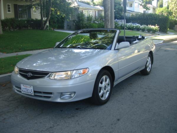 2001 TOYOTA CAMRY SOLARA silvergray automatic 84169 miles Stock 2831 VIN 2T1FF28P31C508802