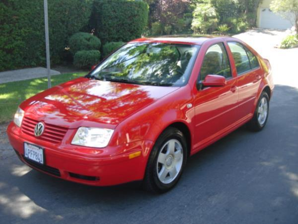 2001 VOLKSWAGEN JETTA redgray automatic 83350 miles Stock 2837 VIN 3VWSK69M21M082210