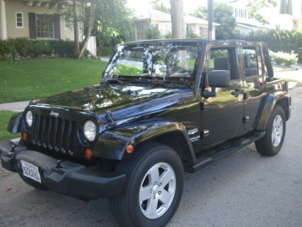2007 JEEP WRANGLER UNLIMITED blackgray manuel 183430 miles Stock 2843 VIN 1J8GB59107L19045