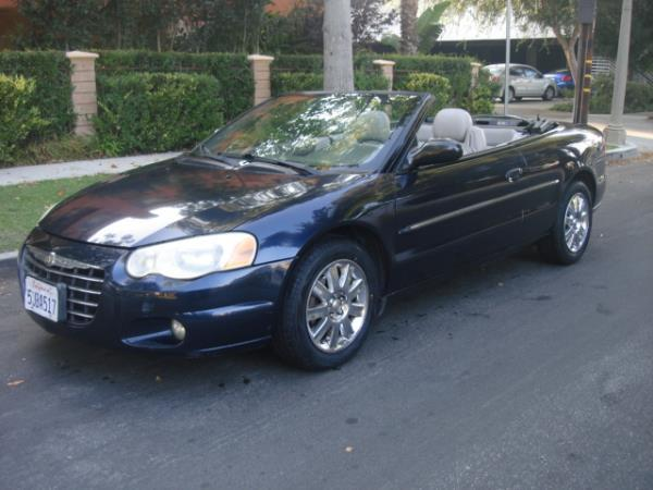 2004 CHRYSLER SEBRING bluegray automatic 100828 miles Stock 2849 VIN 1C3EL65R04N270799