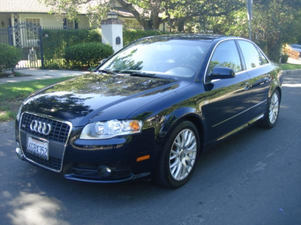 2008 AUDI A4 bluegray automatic 94907 miles Stock 2850 VIN WAUAF78E08A168493