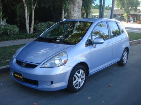 2008 HONDA FIT bluegray 5 speed manual 98275 miles Stock 2856 VIN JHMGD37428S036736