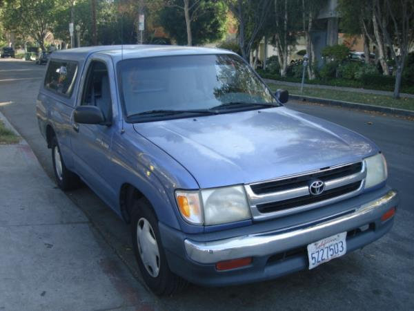 1999 TOYOTA TACOMA bluegray automatic 239036 miles Stock 2863 VIN 4TANL42N0XZ487974